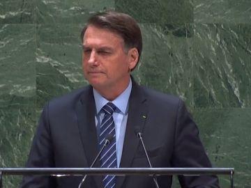 """Bolsonaro: """"El Amazonas no es patrimonio de la humanidad, no son los pulmones de la tierra"""""""