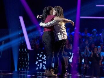 Vanesa Martín elige la voz de Aysha Bengoetxea a su equipo