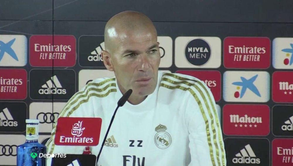 """Zidane, sobre la plaga de lesiones en el Real Madrid: """"Preocupado no estoy, molesto sí"""""""