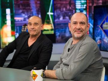 ¿A un actor le tienen que salir bien todos los personajes? Karra Elejalde y Eduard Fernández responden en 'El Hormiguero 3.0'