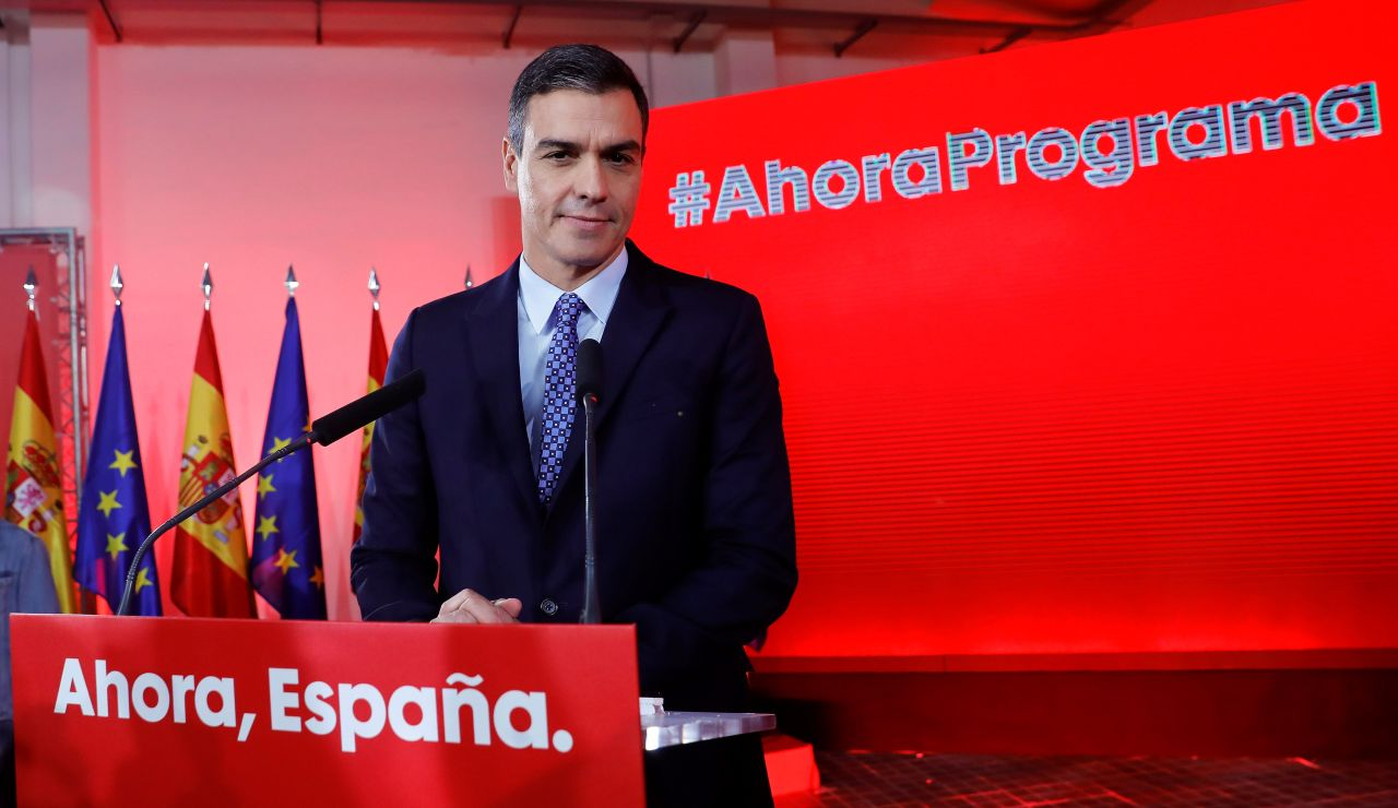 Elecciones generales 2019: Pedro Sánchez