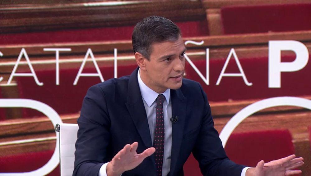 La entrevista de Pedro Sánchez en 10 frases