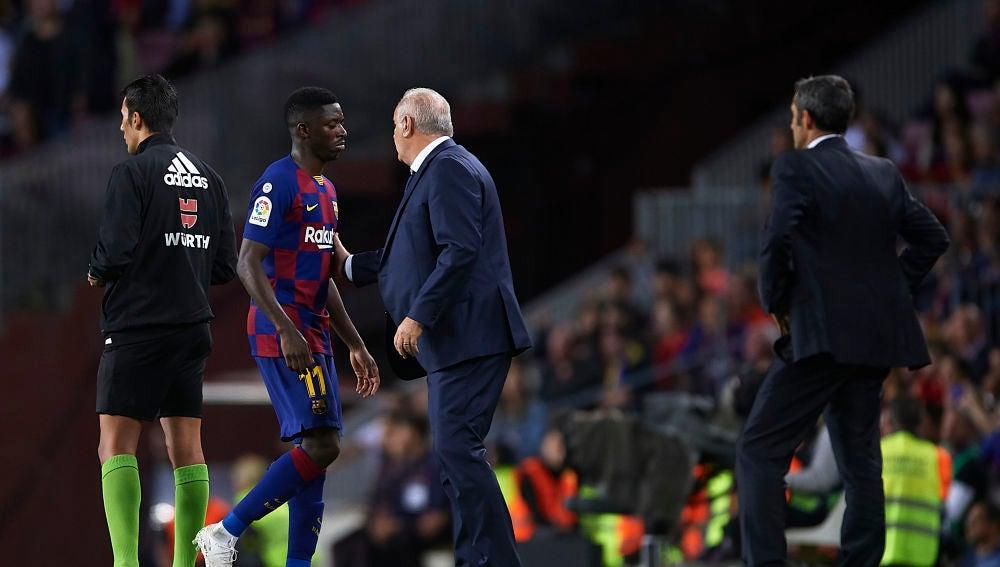 Dembélé se pierde El Clásico contra el Real Madrid al recibir dos partidos de sanción
