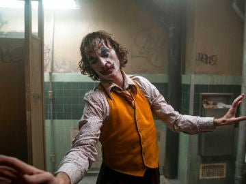 Joaquin Phoenix es una de las escenas de 'Joker'