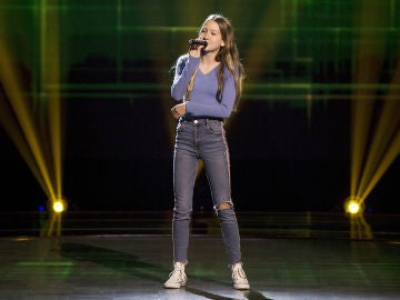 Alexandra Rosillo canta 'Riptide' en las Audiciones a ciegas de 'La Voz Kids'