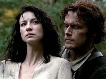 Claire y Jamie Fraser en 'Outlander'