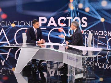 Vicente Vallés entrevista a Pedro Sánchez