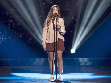 Adriana Tonda canta 'Never enough' en las Audiciones a ciegas de 'La Voz Kids'