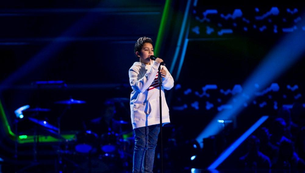Fran López en 'La Voz Kids'