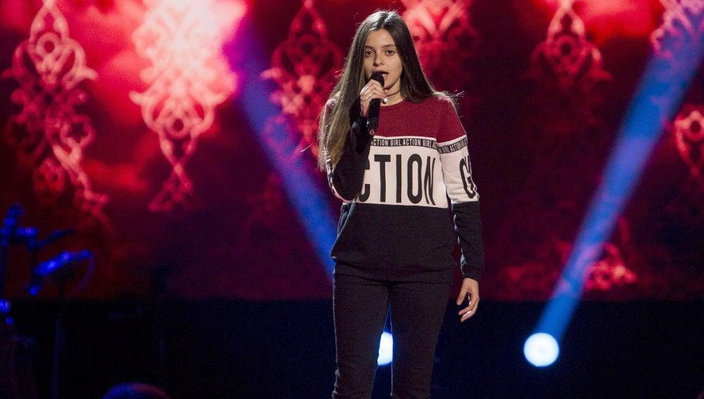 Elena Aguallo canta 'Warrior' en las Audiciones a ciegas de 'La Voz Kids'