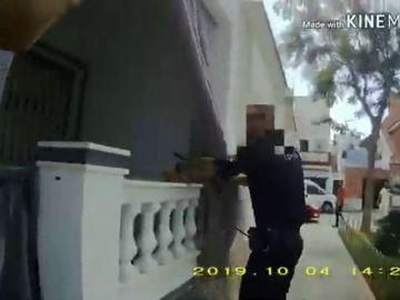 Persecución de película a un ladrón en Punta Umbría
