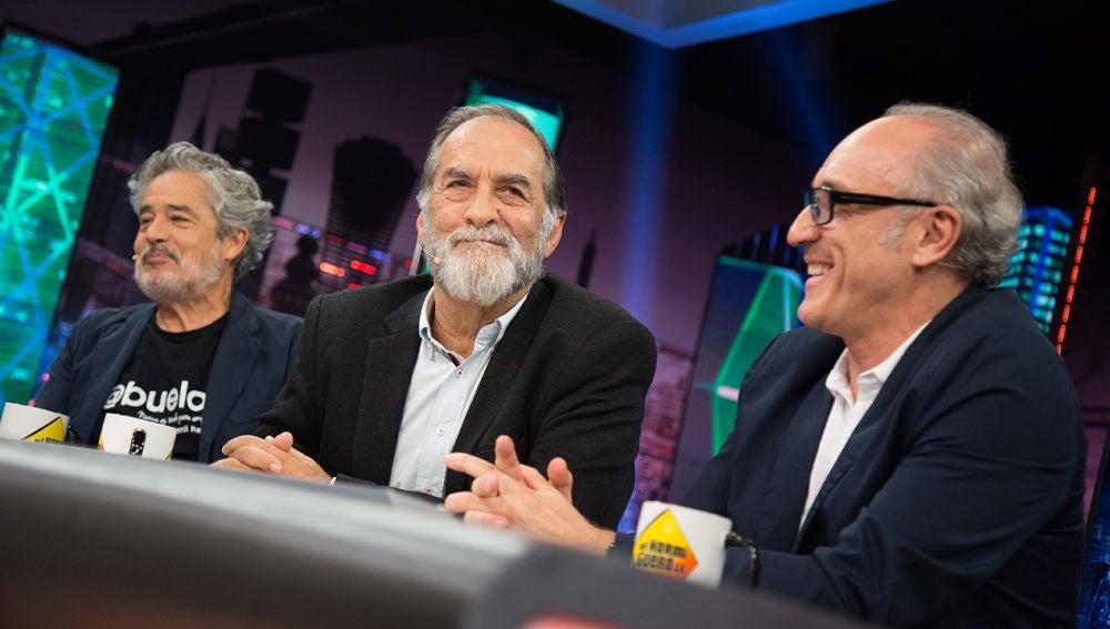 El Hormiguero 3.0: Carlos Iglesias, Roberto Álvarez y Ramón Barea (07-10-19)