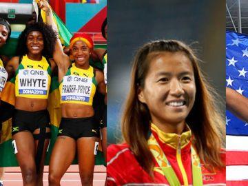 Las cuatro madres que salieron con medalla del Mundial