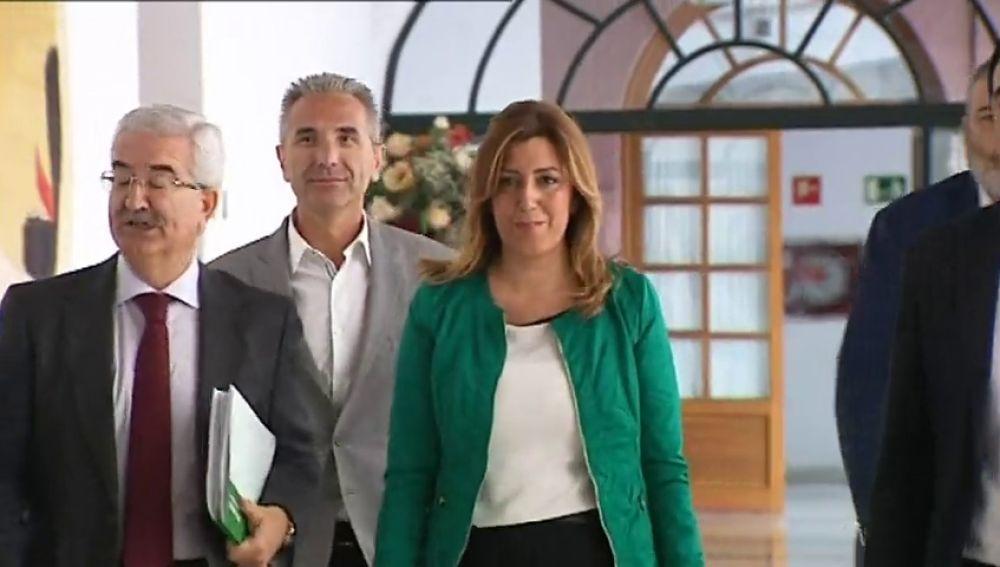 Chaves, Griñán y Díaz declararán por los gastos en prostíbulos de la fundación para el empleo