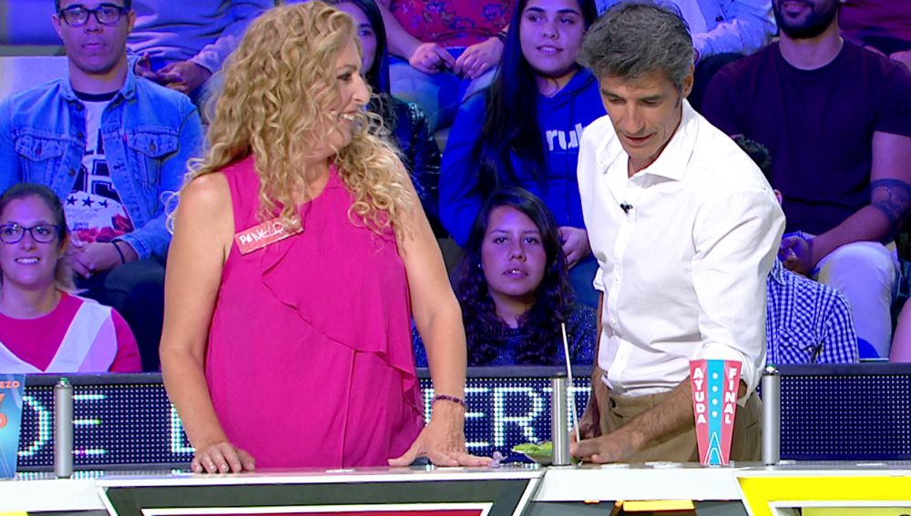 El sorprendente objeto que una concursante de 'La ruleta de la suerte'