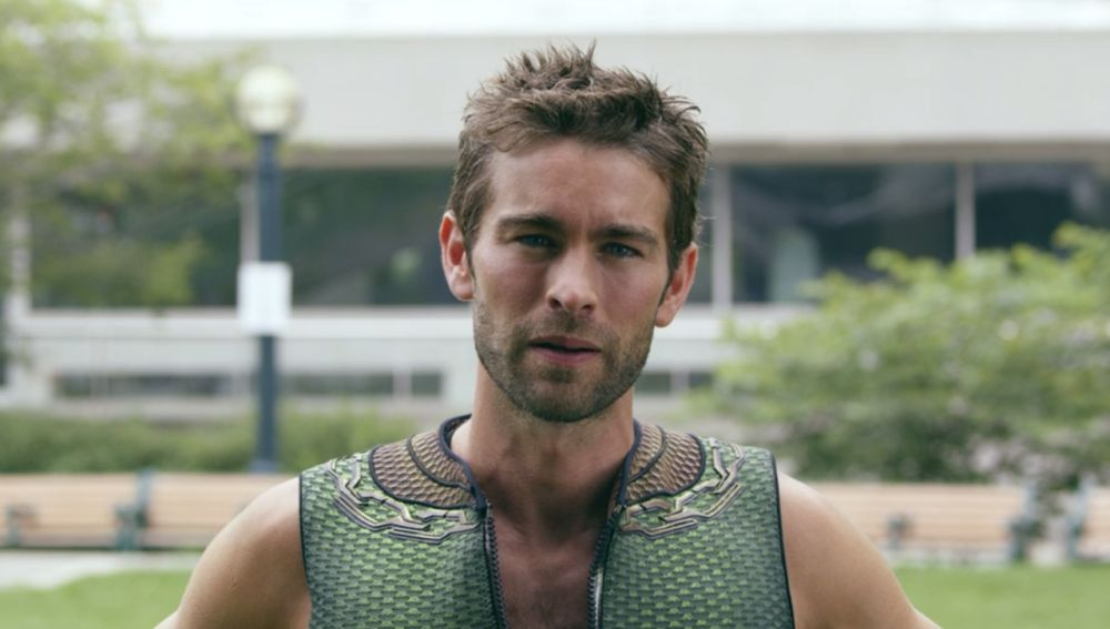 Chace Crawford como The Deep en 'The Boys'