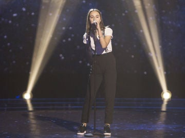 Actuación Ruslana Panchyshyna con 'It's a man's man's man's world' en las Audiciones a ciegas
