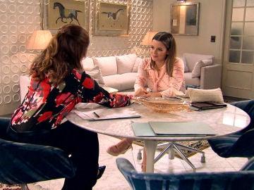 La cómplice conversación de Irene y Lourdes