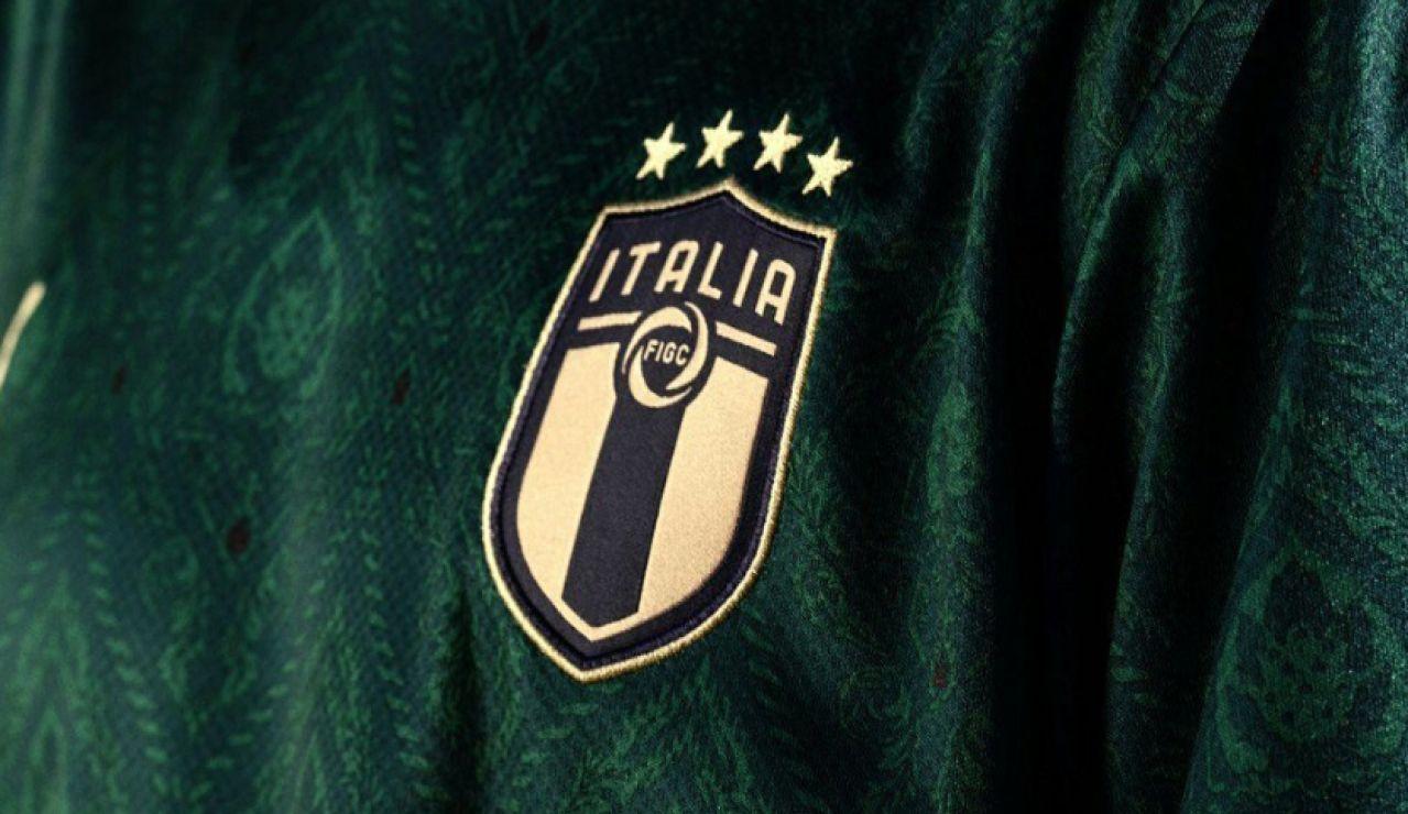 La selección italiana se pasa al verde