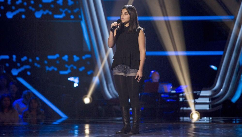 Actuación Enshar Ghateh con 'Someone like you' en las Audiciones a ciegas