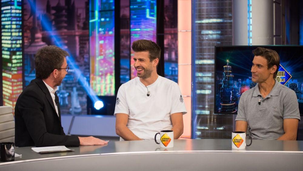 Gerard Piqué y David Ferrer confiesan en 'El Hormiguero 3.0' cuál es su comida favorita