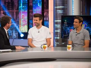 Gerard Piqué y David Ferrer confiesan en 'El Hormiguero 3.0' cuál es su comida basura favorita