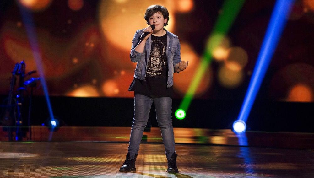 Daniel Rodríguez canta 'Valerie' en las Audiciones a ciegas de 'La Voz Kids'