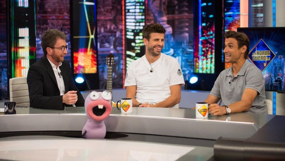 Gerard Piqué y David Ferrer, más sinceros que nunca con 'El supertest supercomprometido del deportista'