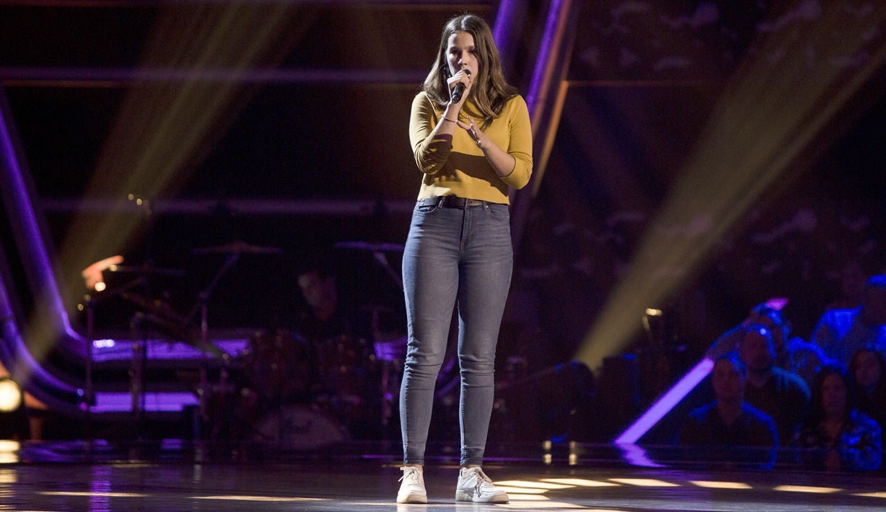 Actuación María Expósito con 'All I ask' en las Audiciones a ciegas