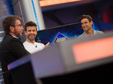 ¿Cómo gestionan los deportistas de élite las críticas? Gerard Piqué y David Ferrer responden en 'El Hormiguero 3.0'