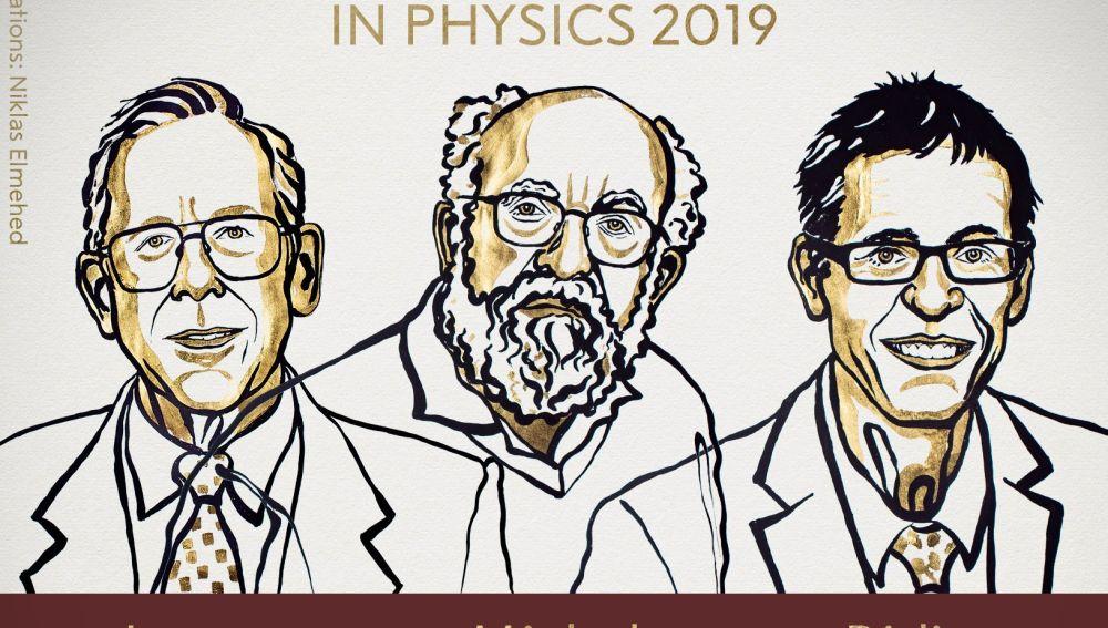 Peebles, Mayor y Queloz ganan el Nobel de Física