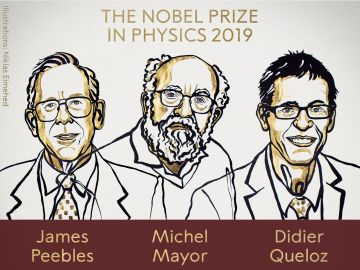 Peebles, Mayor y Queloz ganan el Nobel de Física