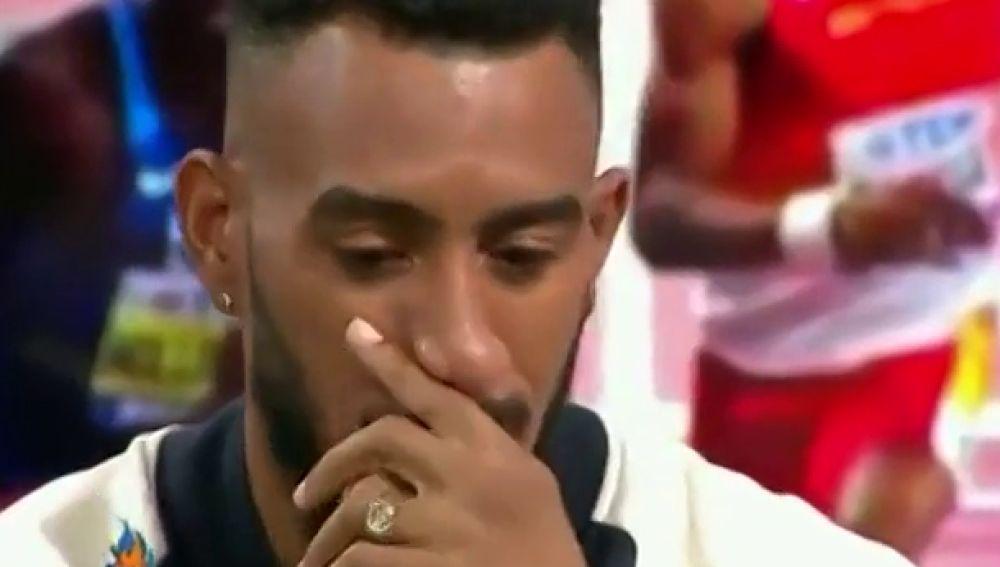 """El duro relato de Orlando Ortega tras la final de 110 metros vallas: """"Casi lo dejo todo, no podía"""""""