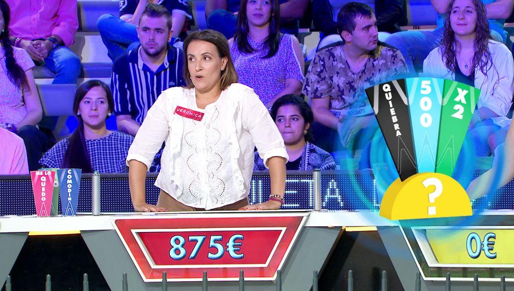 """""""Ya me has liado"""", una concursante se la juega por Jorge Fernández en 'La ruleta de la suerte'"""