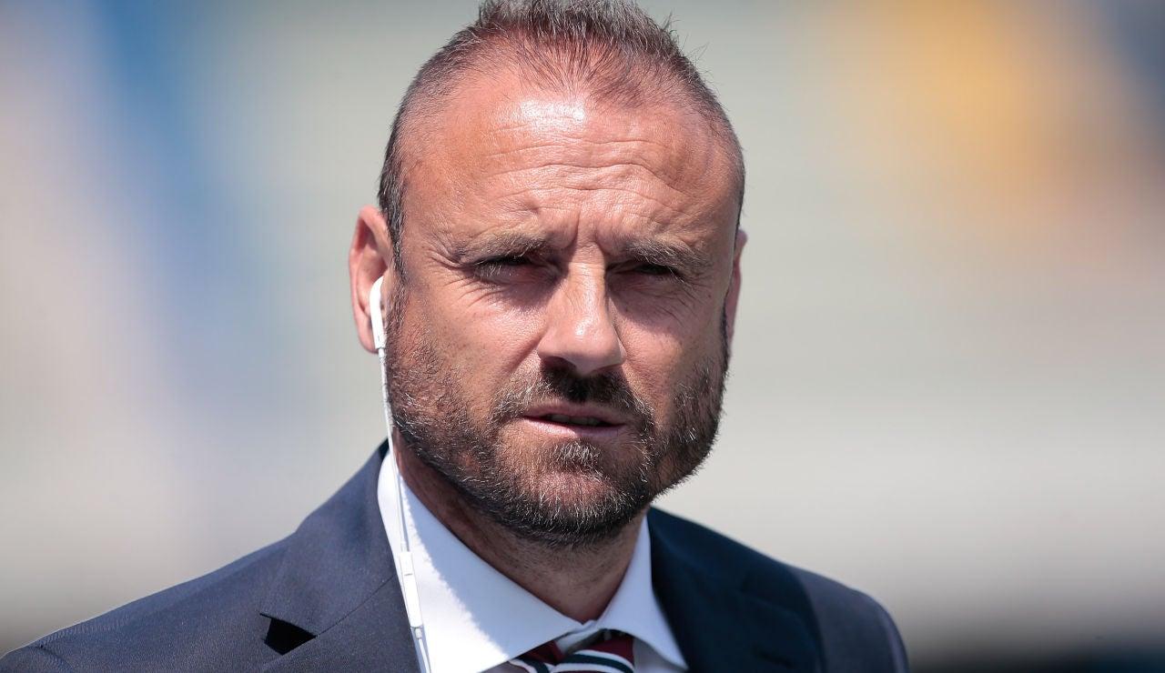 Gianluca Petrachi, director deportivo de la Roma