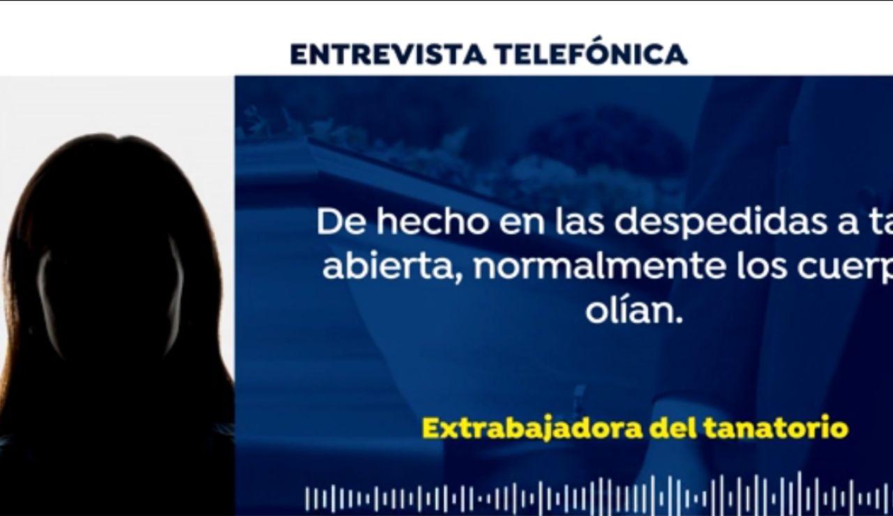 Entrevista a la extrabajadora de la funeraria de Sevilla