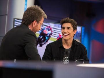 Marc Márquez habla en 'El Hormiguero 3.0' sobre Fabio Quartararo, su posible rival para la próxima temporada