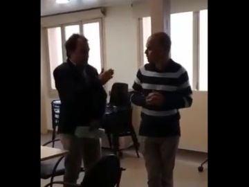 Escrache a una doctora en Cataluña