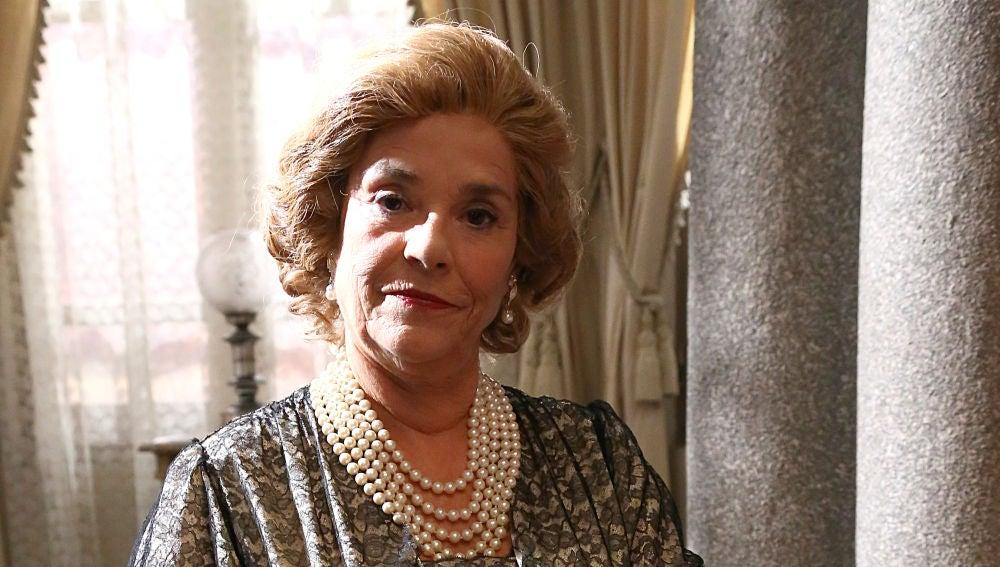 Charo Zapardiel es la tía Eulalia