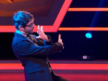 Juanra Bonet aprende a bailar al ritmo de 'Señorita' en '¡Boom!'