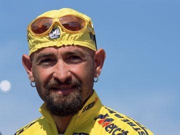 Marco Pantani, en su época como ciclista