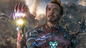 Robert Downey Jr. como Iron Man en 'Vengadores: Endgame'