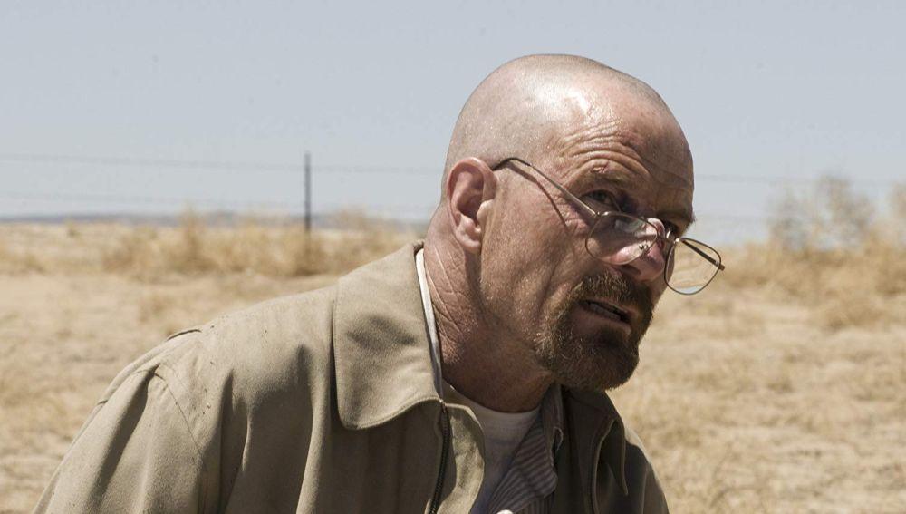 Bryan Cranston como Walter White en 'Breaking Bad'