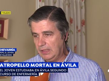 Atropello mortal en Ávila