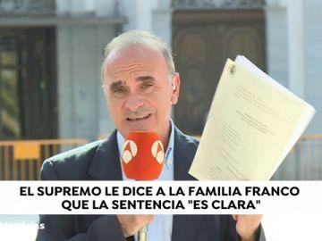 """El Supremo no toma en consideración la petición de los Franco: """"La sentencia es clara"""""""