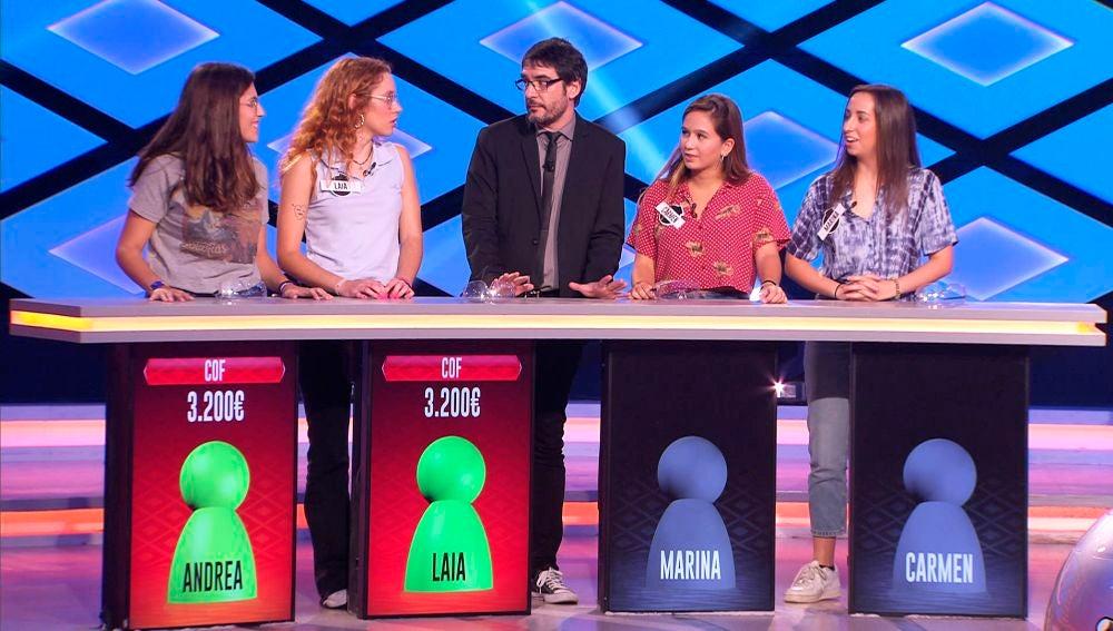 Una concursante de '¡Boom!' rechaza el juego del programa