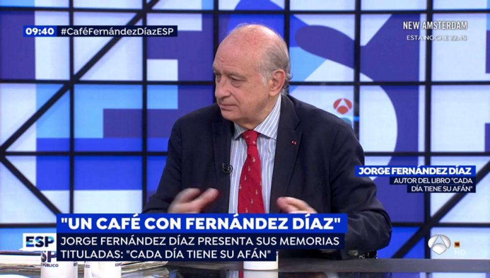 """Fernández Díaz: """"Confío en la actuación de los Mossos, velarán por el cumplimiento de la ley y no actuarán como una policía las órdenes del poder político"""""""