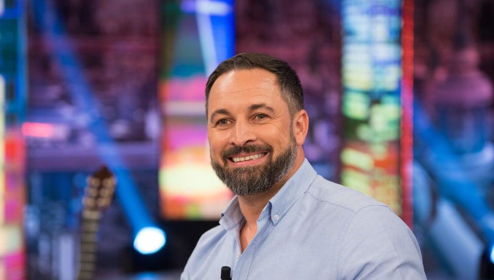 Santiago Abascal, líder de VOX, en 'El Hormiguero 3.0'