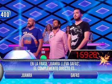 Juanra Bonet se cuela en la bomba clasificatoria de 'Los dispersos' en '¡Boom!'