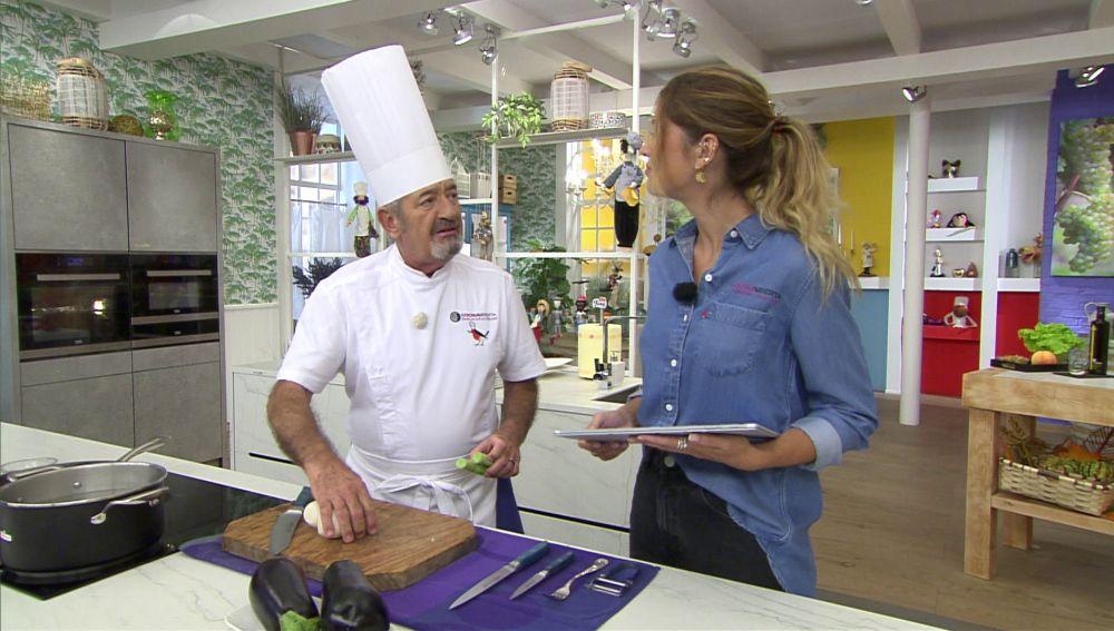 Karlos Arguiñano desvela los motivos por los que la receta de 'berenjenas rellenas' es la más buscada